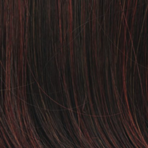 R6/28H - COPPERY MINK - Dark Brown with Fire Red Highlights