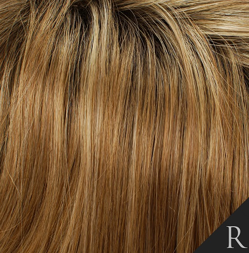 ROOTED MALIBU - Malibu Blonde with Shaded Brown Roots