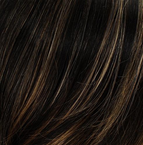 SABLE - Brown Black Blend with 15% Malibu Blonde Highlights