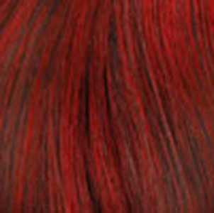 T1B/DARK RED - Soft Black with Dark Red Tips